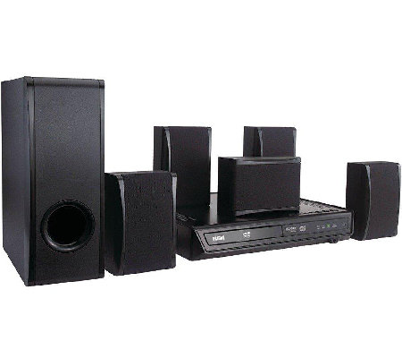 100-Watts 5.1-Channel Dolby Digital DVD Home Theater System