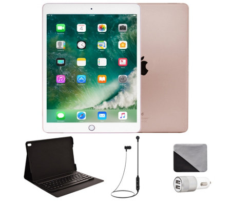 "Apple iPad Pro 10.5"" 512GB Cellular & Accessories - Rose Gold"