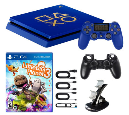 cf4c4cfd67a PS4 Slim 1TB Days of Play Special Edition Console Bundle - Page 1 ...