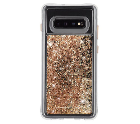 Case Mate Waterfall Gold Case For Galaxy S10