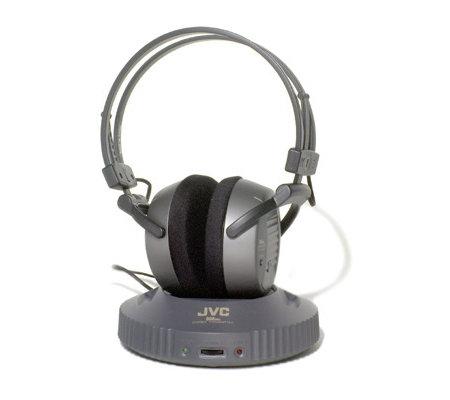 JVC HA W250RF 900 MHz Wireless Stereo Headphones