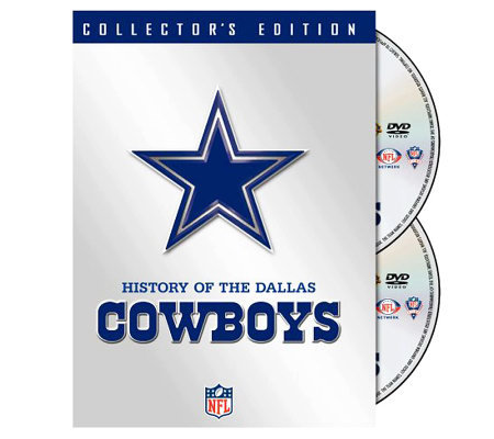 NFL History of the Dallas Cowboys 2-Disc Set
