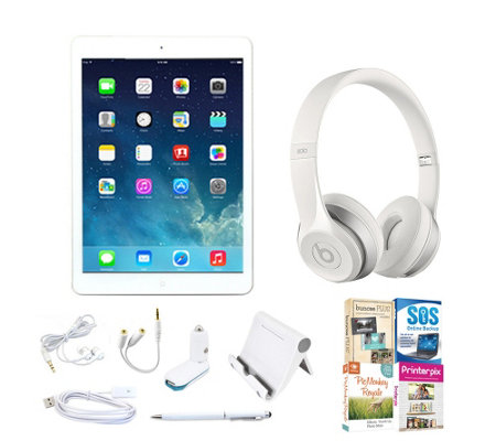 Apple iPad Air 16GB Bundle with Beats Solo2 Headphones