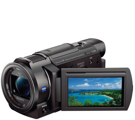 Sony AX33 4K Ultra HD Handycam with 10X OpticalZoom