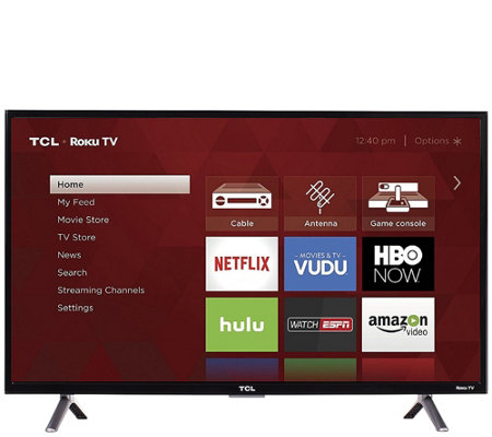 "TCL 32"" HD Smart Roku TV with HDMI Cable & 2-Yr Warranty"