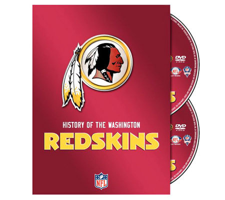 NFL History of the Washintgon Redskins 2-Disc Set
