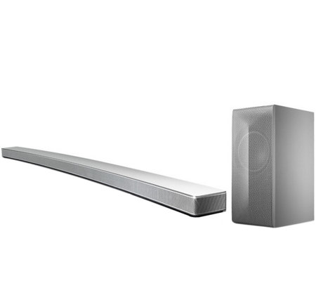 LG 4.1-Channel 360W Curved Bluetooth Soundbar