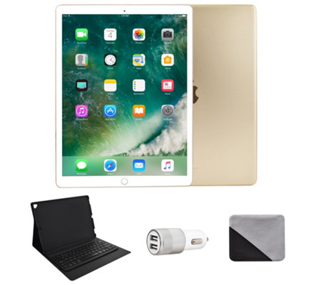 "Apple iPad Pro 12.9"" 512GB Wi-Fi & Bluetooth Keyboard - Gold"