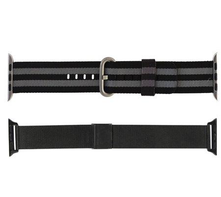 Digital Basics Apple Watch 42 44mm Nylon Andsteel Bands