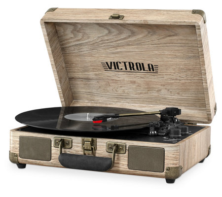 Victrola Portable Bluetooth Suitcase RecordPlayer