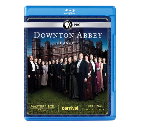 Masterpiece Classic: Downton Abbey Season 3- Blu-ray
