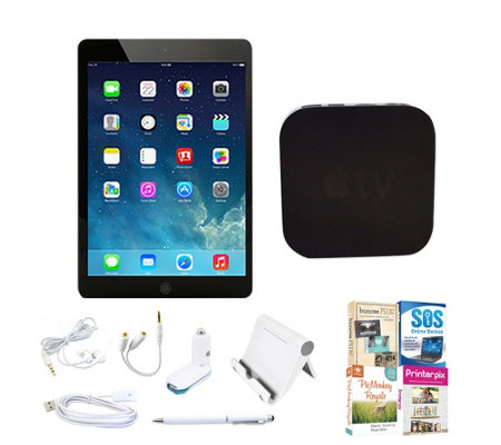 Apple iPad mini 2 16GB Bundle with Apple TV & Software