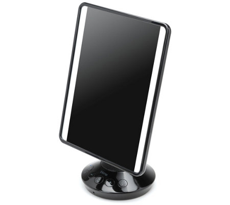Ihome Flat Panel Vanity Mirror With Bluetoothspeaker