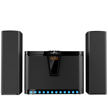beFree Sound 2.1-Channel Multimedia Speaker System w/ Display