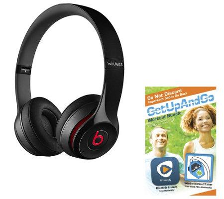 Beats by Dre Solo2 Wireless Headphones w/ App Package — QVC com