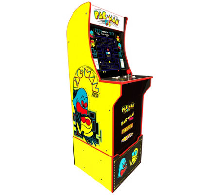 Arcade1Up 4in-1 Pac Man Home Arcade Machine with Riser
