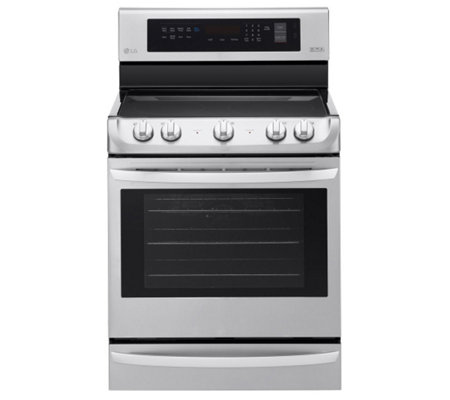 LG 6.3-Cubic Foot Electric Single Convection Oven