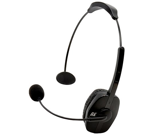Roadking Noise Cancelling Bluetooth Headset 33 Wireless Range Qvc Com