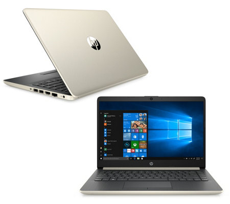"HP 14"" Laptop AMD A4 4GB RAM 64GB eMMC with Office 365 and Voucher"