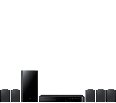 Samsung 5.1-Channel 3D Bluetooth Blu-ray HomeTheater System
