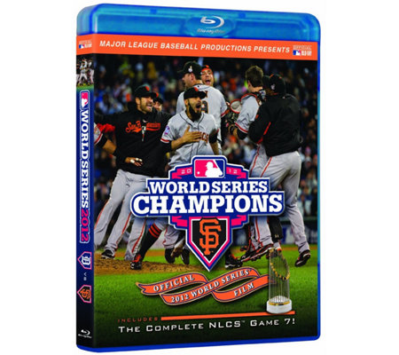 San Francisco Giants 2012 World Series Champions Blu-ray