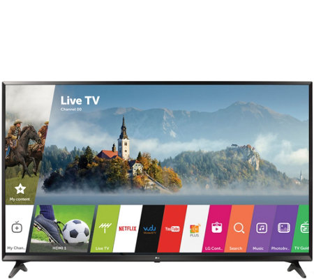 "LG 55"" 4K Ultra HD Smart TV with Active HDR and Channel Plus"