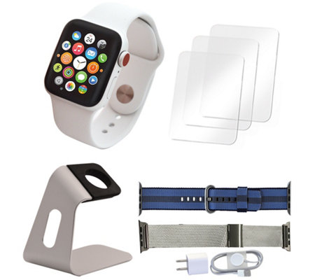 Apple Watch Series 3 GPS & Cellular 38mm &Accessories