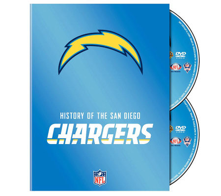 NFL History of San Diego Chargers 2-Disc Set