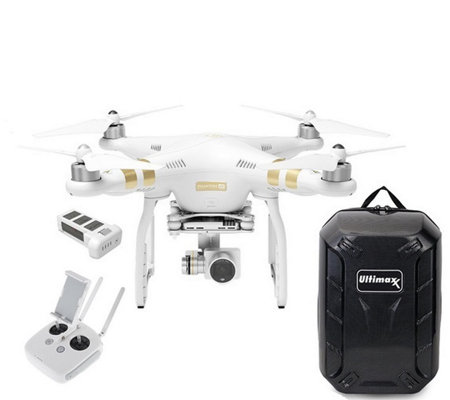 DJI Phantom 3 4K Drone with Extra Battery & Backpack