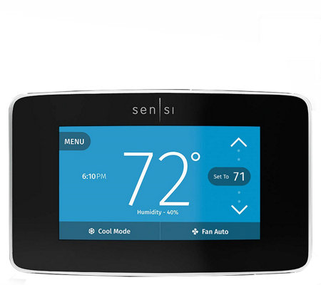Emerson Sensi Touch Wi Fi Thermostat With Colortouchscreen