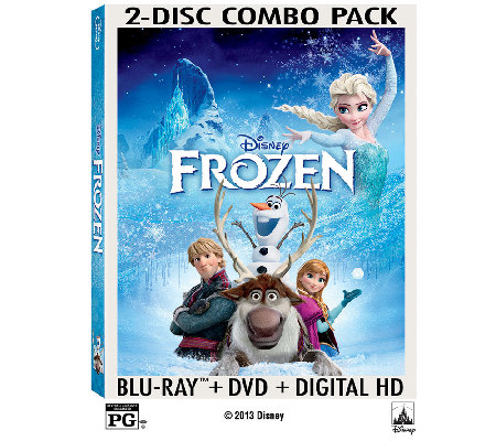 Disney's Frozen Two-Disc Blu-Ray