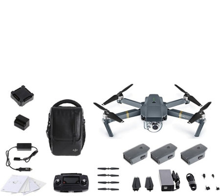 DJI Mavic Pro Drone Fly More Combo Bundle