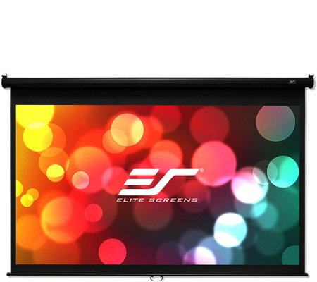 "Elite Screens 100"" Manual B Series Projection Screen"