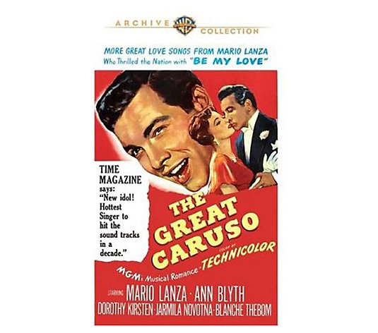 The Great Caruso (1951 Original) - DVD