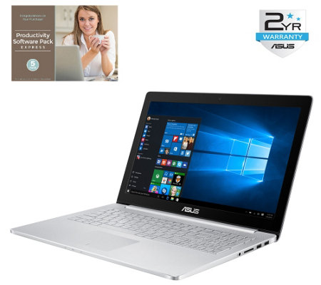 "ASUS 15.6"" Ultra HD 4K Laptop - Core i7, 16GB RAM, 512GB SSD"