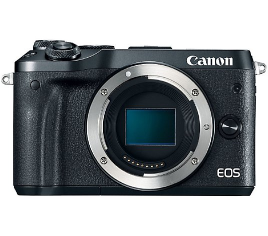 Canon EOS M6 Mirrorless Digital Camera - Body Only