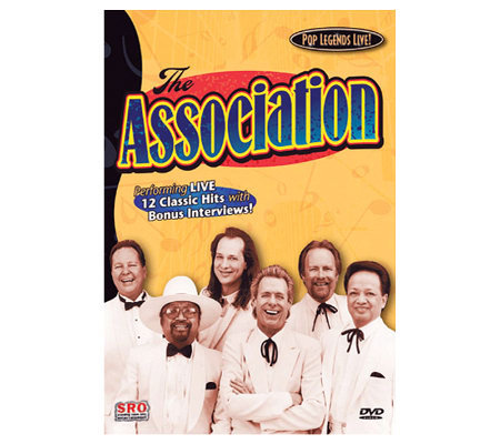The Association (Pop Legends Live!) DVD