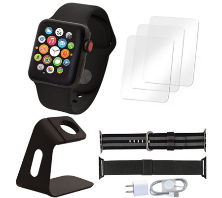 Apple Watch Series 3 GPS & Cellular 42mm & Accessories