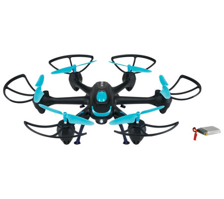 Sky Rider Hexacopter Drone with Camera — QVC com