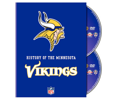 NFL History of the Minnesota Vikings 2-Disc Set