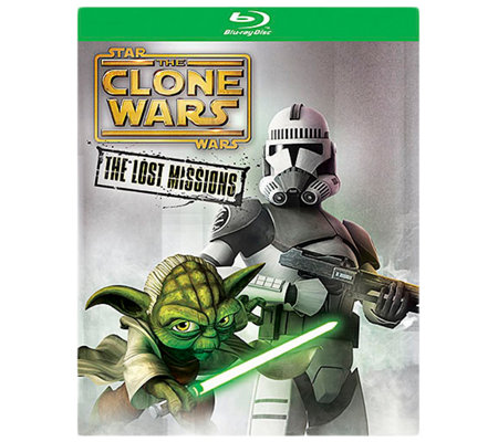 Star Wars: The Clone Wars - The Lost Missions Blu-Ray