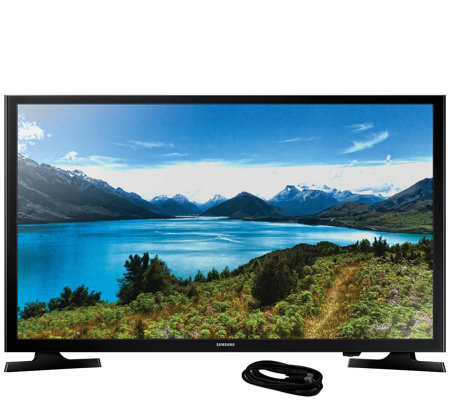 "Samsung 32"" LED 720p HDTV and 6' HDMI Cable"