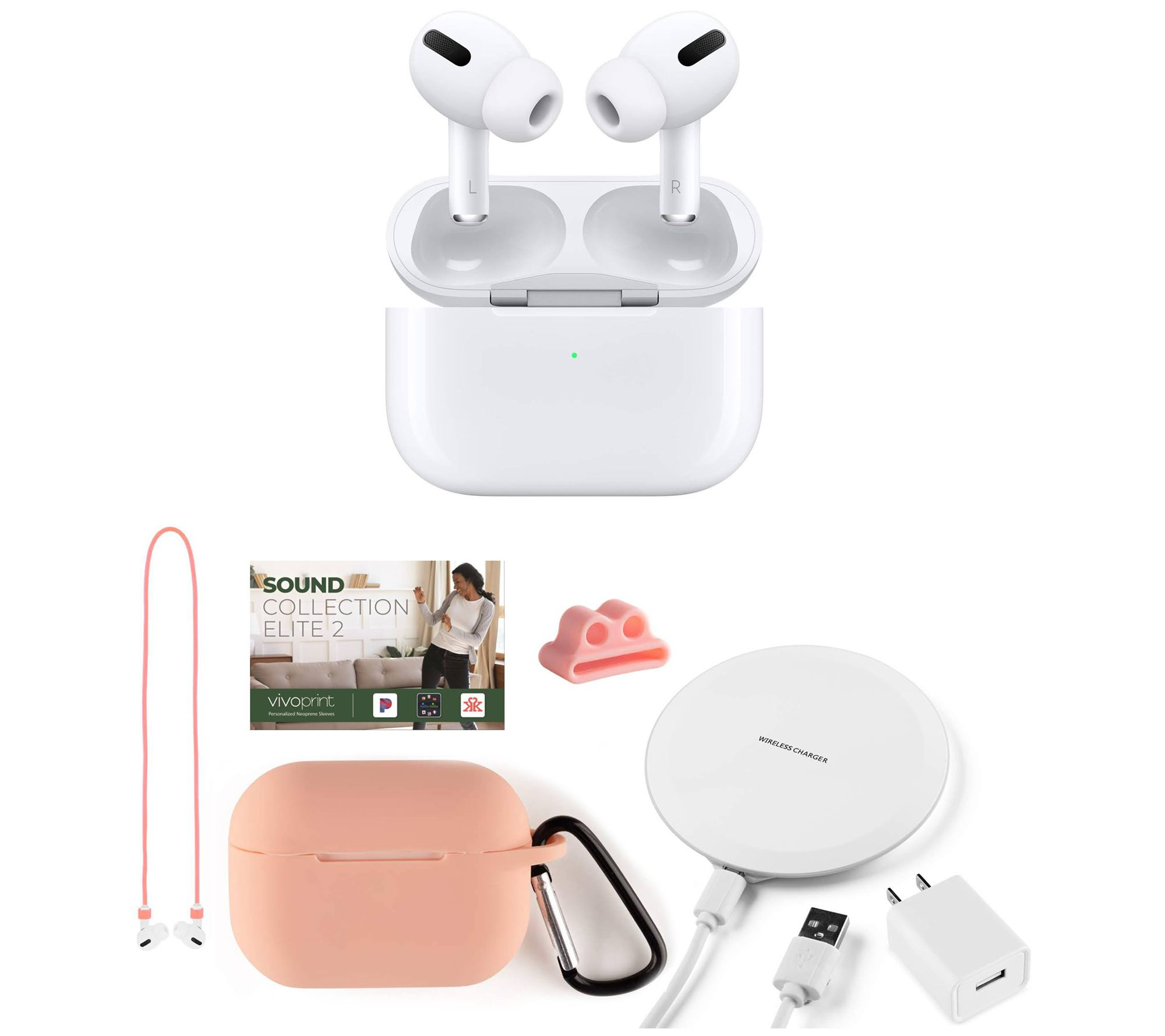 $62 off AirPods Pro with charging pad & accessories