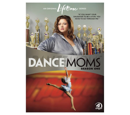 Dance Moms: Season 1 Four-Disc DVD Set