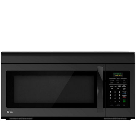 LG 1.6 Cubic Foot Non-Sensor Over-the-RangeMicrowave Oven