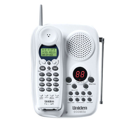 Uniden EXAI398i 900MHZ Cordless Phone W CID Digital Answerer