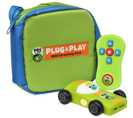 PBS KIDS Plug & Play HDMI Streaming Stick w/ Carry Case