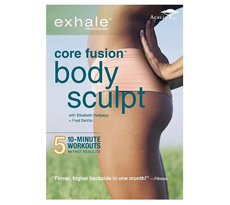 Exhale: Core Fusion Body Sculpt - DVD