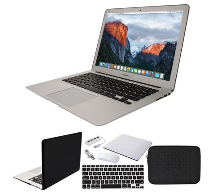 "Apple Macbook Air 13"" 128GB with Clip Case andAccessories"