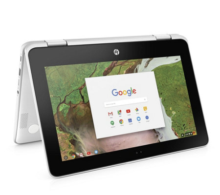 "HP 11.6"" Chromebook x360 2-in-1 - Celeron, 4GBRAM, 16GB eMMC"